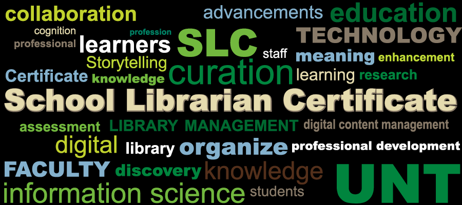School Librarian Certificate. Click here for more information.