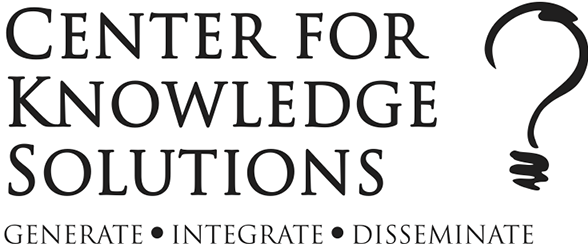 Center for Knowledge Solutions